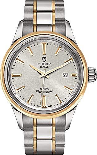 [チュードル]TUDOR 腕時計 チューダー スタイル 28MM シルバー×ゴールド 12103 レディース [並行輸入品]