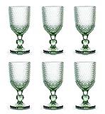 kedea calici acqua colorati vetro, calici colorati in vetro lavabili in lavastoviglie, calici vino colorati pasta colore, pave' verde smeraldo