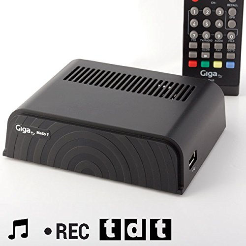 qtimber Grabador-Sintonizador TDT GigaTV M455 T #manufacturer # 5 x 15.5 x 17.2 cm