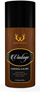 Vintage Collection Woody Musk Pure Essence Spray by Montwood - perfume for men, 150 ml