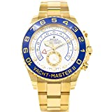Rolex Mens 18K Gold Yachtmaster II 116688 Review
