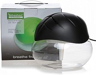 Leaf Shaped Electrical Water Air Refresher Air Revitalizer Air Purifier Air Humidifier-Black