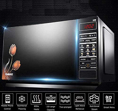 L.TSA Kitchen Electric Microwaves Smart App Remote Control Touch Screen Intelligent Lightwave Oven Household Microwave…