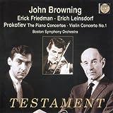 Piano Concertos, The/Violin Concerto No. 1 (Browning, Bso) (2005-04-11)