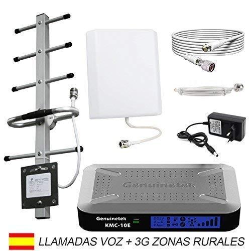 Genuinetek KMC-2 900. Amplificador Cobertura móvil gsm 3G 900 MHz para Zonas Rurales