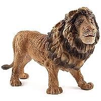 獣の像ライオン屋外庭園像家の装飾動物の彫刻コレクション動物(色:A)
