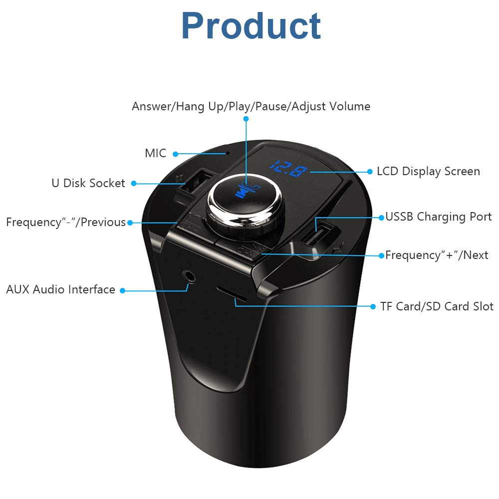 DishyKooker Bluetooth Transmitter Calling Support