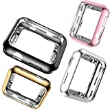 Apple Watch Cases 38mm,XGUO TPU Soft Protective Case Cover For iWatch For Apple
