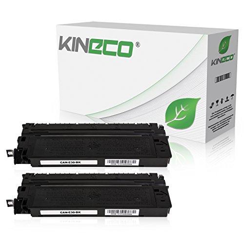 2 Kineco Toner kompatibel mit Canon E-30 für Canon FC-220 FC-120 FC-950
