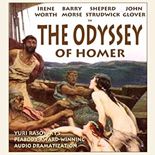 The Odyssey of Homer (Dramatization) audiobook cover art