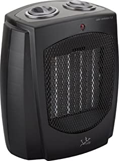 Jata TC87 Calefactor cerámico PTC, silencioso, 1500 W, Negro
