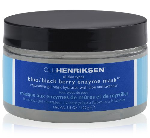 Ole Henriksen Blue Black Berry Enzyme Facial Mask, 3.5 Fluid Ounce