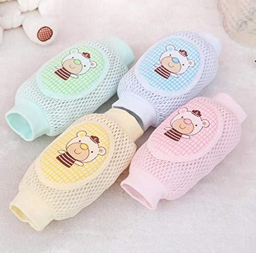 JKCKHA Protectores de la Rodilla Rodilla del bebé Cojines Calentadores de la Pierna del algodón de Seguridad de Arrastre del Codo del Amortiguador del bebé Infantiles for la Infancia Niños Calcetines