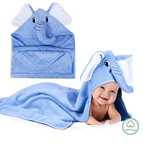 Momcozy Toalla Capucha Baño Bebés Lindo Diseño