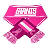 New York Giants 2013 NFL Breast Cancer Awareness Wordmark Scarf -