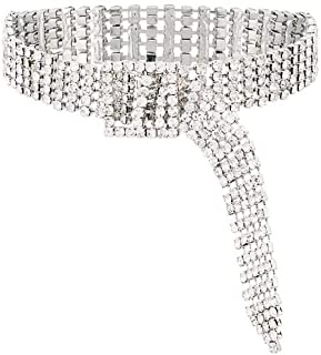 Best rhinestone choker belt Reviews