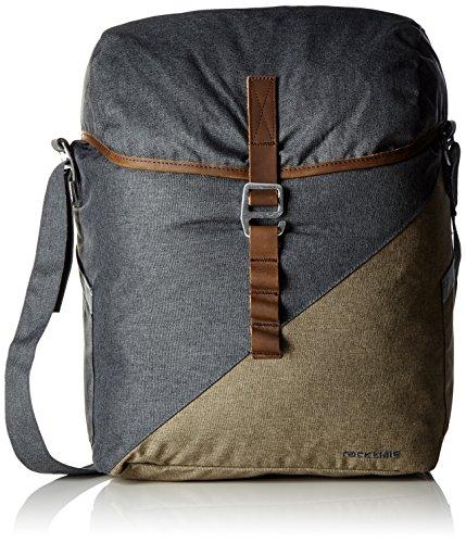 Racktime Unisex– Erwachsene Mia Seitentasche, grau, Einheitsgröße