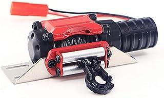 OUYAWEI - Cabrestante eléctrico de Metal para simulación de tracción de 1/10 Crawler Car TRX4 D90 SCX10