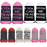 【5 Pairs Colorful Party Socks】-- 5 pairs different colors If you can read these socks especially prepare for the party. Sufficient quantity and reasonable price, Enjoy time with your friends or family! 【Best Gifts For Women】--Fun socks are perfect gi...