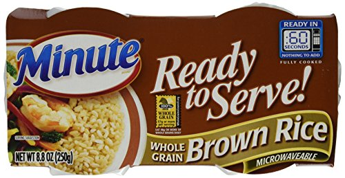 Minute Ready to Serve Natural Whole Grain Brown Rice 2  44 oz cups Pack of 8