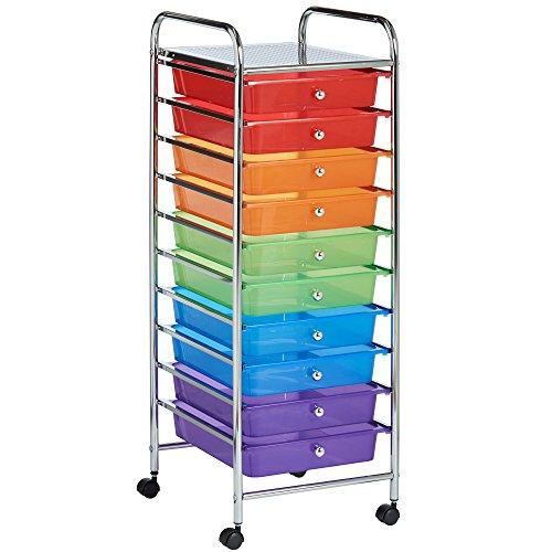 VonHaus 10 Drawer Rainbow Storag...