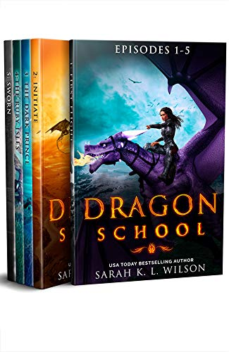 Dragon School: Episodes 1-5 (Dragon School World Omnibuses Book 1)