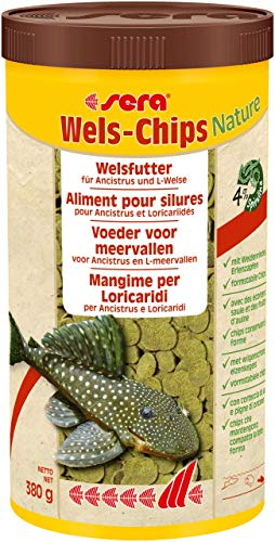 Sera Wels-Chips Nature 1.000 ml sera Wels-Chips Nature 1000 ml 260(dia) x 20(d)mm.