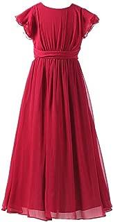 Bridesmaid Dress Prom Party Dresses Long Flower Girl's Dress