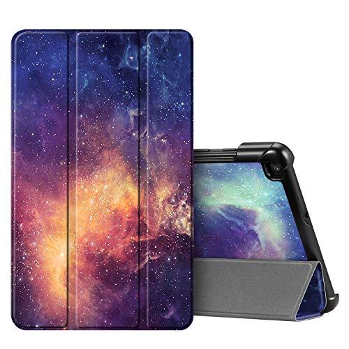 Fintie Hülle für Samsung Galaxy Tab A 8.0 SM-T290/T295 2019 - Ultra Schlank Kunstleder Schutzhülle Cover Case mit Standfunktion für Samsung Galaxy Tab A 8.0 Zoll 2019 Tablet, Die Galaxie