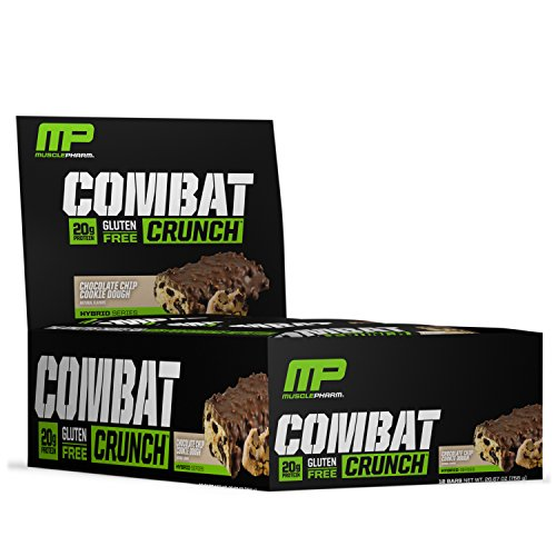 Muscle Pharm Combat Crunch Supplement, 12 count - 51iEjbbZdIL
