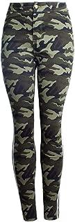 LUKEEXIN Women's Casual Camouflage Leggings Skinny Pants
