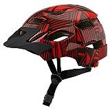 DETZH Ciclo Bike Helmet Skateboard Hoverboard Casco per la Sicurezza di Guida Regolabile Leggero Casco Traspirante fanale Posteriore Adatto Bambini Childs,D