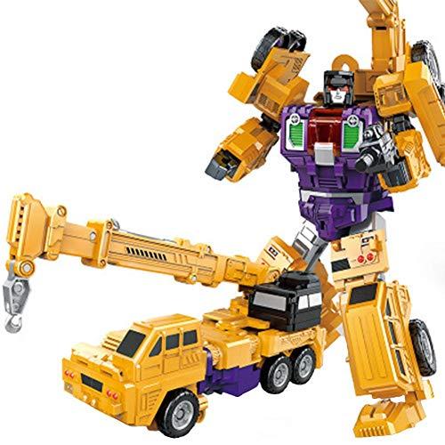 Kapokilly Transformers Figuren,Transformers Rescue Bots Transformers Series Deformationsautospielzeug Roboter Und Fahrzeuge Spielset Verformungsroboter-Modell Mini Heroes Rescue Bots