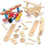 BAKER Ross Craft-IT 2 Kit d'avion en bois, 3 ans et plus 12 cm