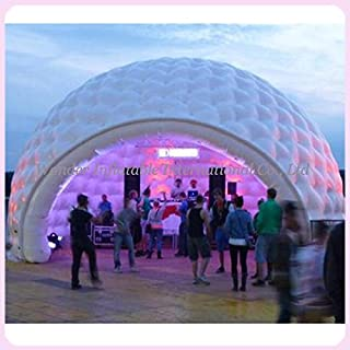 26'Wx16'H Inflatable Multi-Functional Indoor/Outdoor Igloo Dome Tent with Color Changing LED Lights