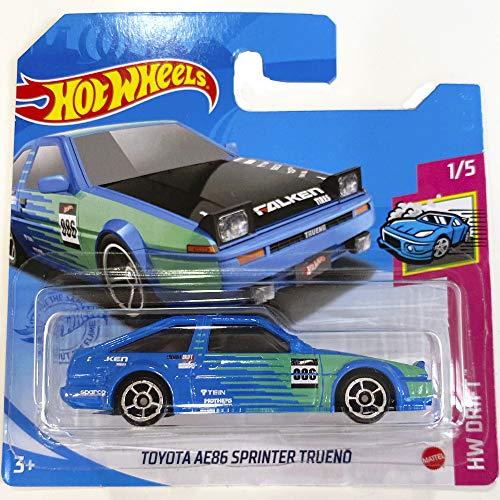 Hot Wheels Toyota AE86 Sprinter Trueno HW Drift 1/5 2021 (31/250) Short card