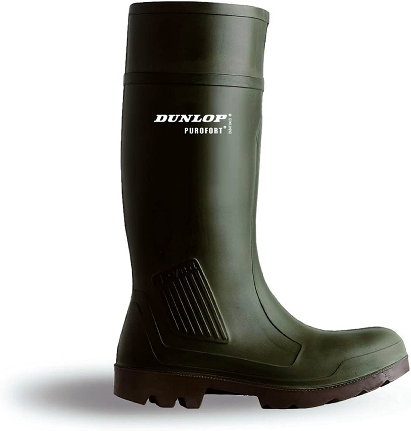 Purofort Professional Non Safety Wellington Boots Green Size 05