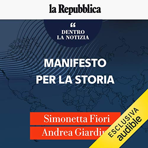Manifesto per la storia audiobook cover art