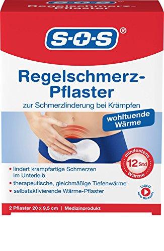 SOS Menstruations-Wärme-Pflaster Regelschmerz-Pflaster