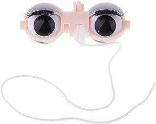 CUTICATE 1/6 BJD Doll Eyeball Eyes Whole Set Eye Mechanism for Blythe Custom Supplies - Gray, as described
