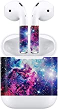 Taifond Set of Stickers for Apple AirPods - Apple Earphones Sticker Adhesive Decal Skin - Dazzling Galaxy