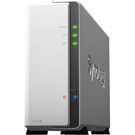 【NASキット+ガイドブック付】Synology DiskStation DS120j/JP [1ベイ / デュアルコアCPU搭載 / 512MBメモリ搭載] 国内正規品+電話サポート対応品