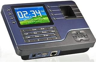 Ycljsq Tiempo de Asistencia de Huellas Dactilares de la máquina del Registrador del Reloj Digital Empleado Electrónico Inglés Lector de Tarjetas USB ID RFID