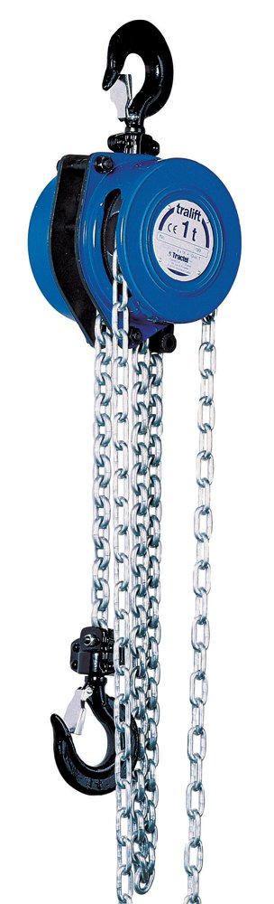 tralift Manual Chain Hoist 1 2 Lift security t 000 40-ft. lbs. Spring new work with