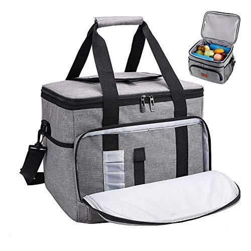 15L Refroidisseur Isolation Sac Extérieur Pique-Nique Stockage Des Aliments Hamper Lunch Pack Leakproof Épaissie Lunch Box Car Pack Ice