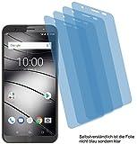 4ProTec I 4X Crystal Clear klar Schutzfolie für Gigaset GS185 Bildschirmschutzfolie Displayschutzfolie Schutzhülle Bildschirmschutz Bildschirmfolie Folie