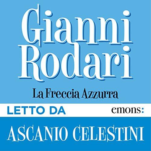 La freccia azzurra audiobook cover art