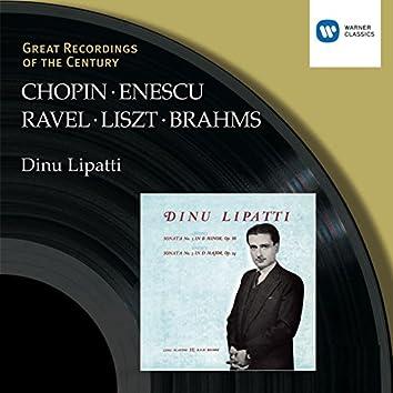 Chopin/Liszt/Ravel/Brahms/Enescu:Piano Recital