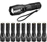 LED Tactical Flashlight, Super Bright 2000 Lumen LED Flashlights Portable Outdoor Water Resistant