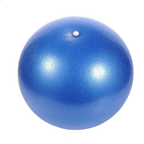 mementoy Gymnastikball Klein Soft Pilates Ball PVC Explosionsgeschützte Gymnastikball Für Hände Oberschenkel Kerntraining Physikalische Therapie Korrektur Körperform, 25CM benchmark